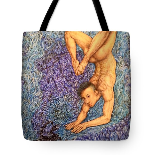 Astrology Zodiac Sign Scorpio  Tote Bag by Kent Chua