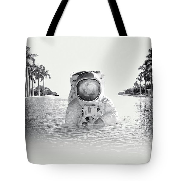 Astronaut Tote Bag by Fran Rodriguez