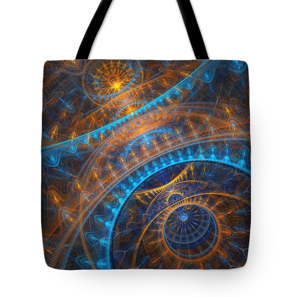 Astronomical Clock Tote Bag by Martin Capek
