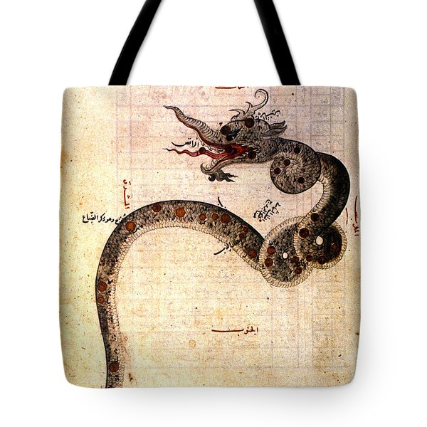 Astronomy: Arabic Ms Tote Bag by Granger