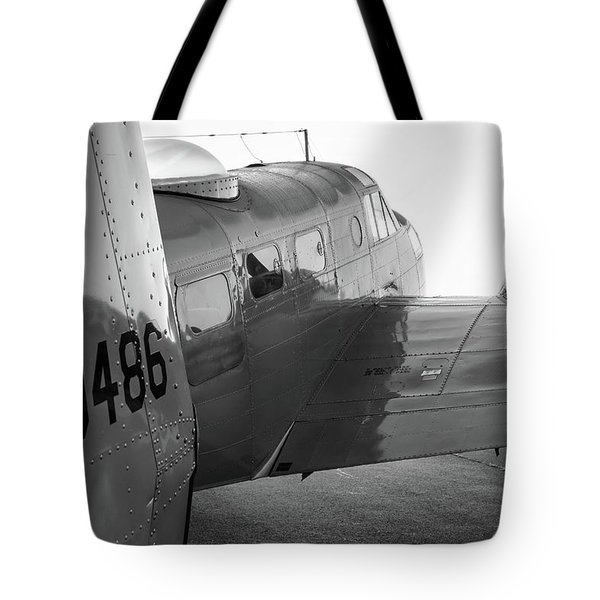 At-11 In Black And White - 2017 Christopher Buff, Www.aviationbuff.com Tote Bag