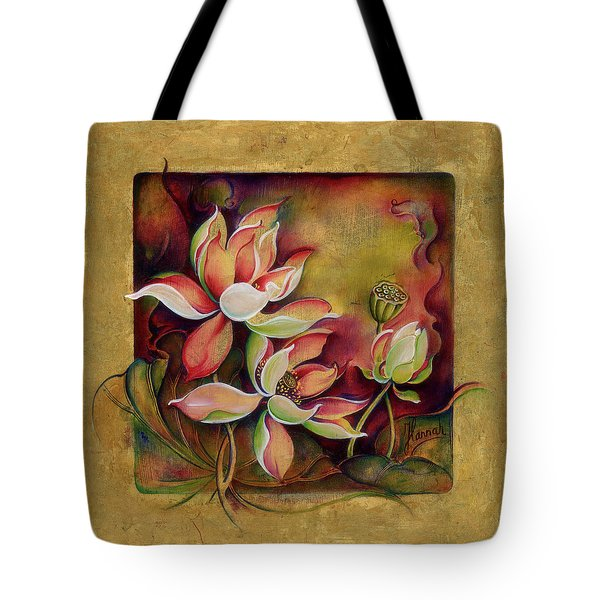 At A Family Wander Tote Bag by Anna Ewa Miarczynska