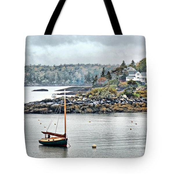 At Anchor - Maine Tote Bag