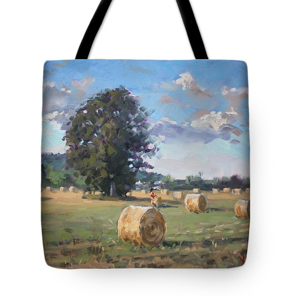 At Cathy's Farm Georgetown Tote Bag