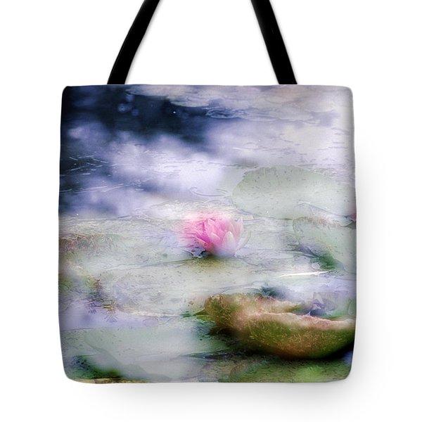 At Claude Monet's Water Garden 12 Tote Bag
