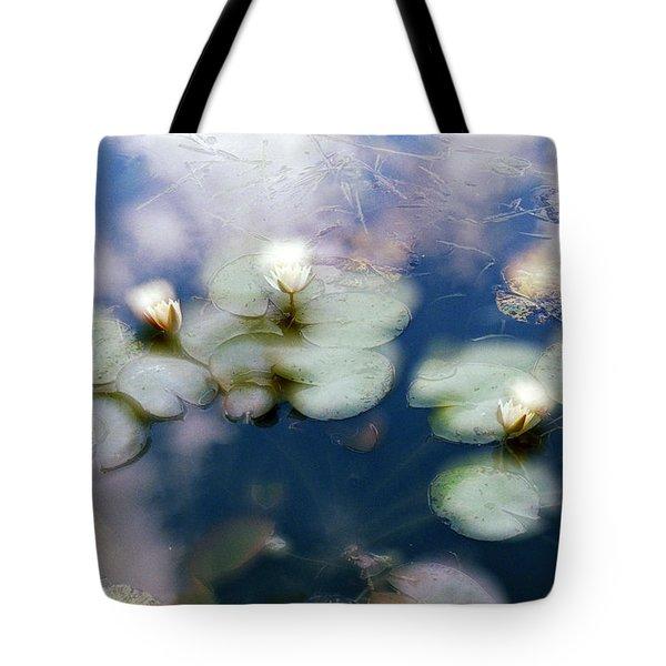 At Claude Monet's Water Garden 4 Tote Bag