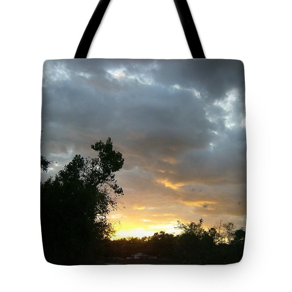 Tote Bag featuring the photograph At Daybreak by Skyler Tipton