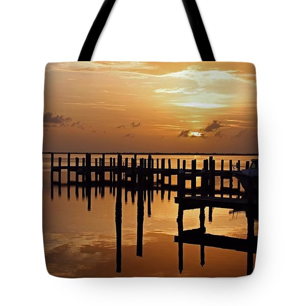 At Day's Close Tote Bag