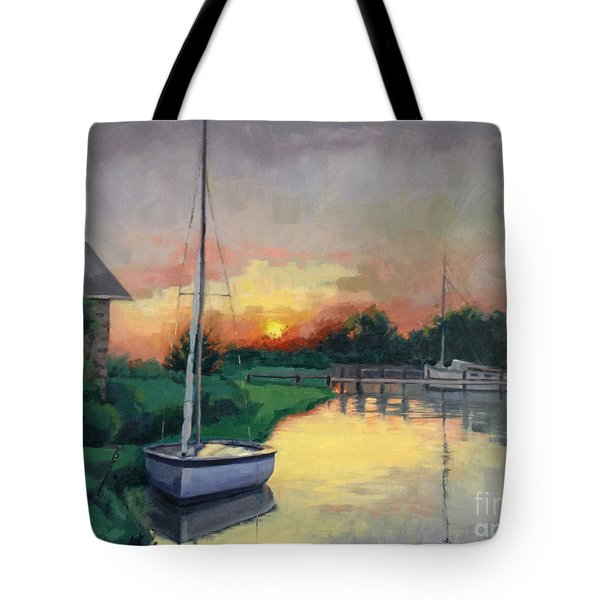 At Ease Sold Tote Bag