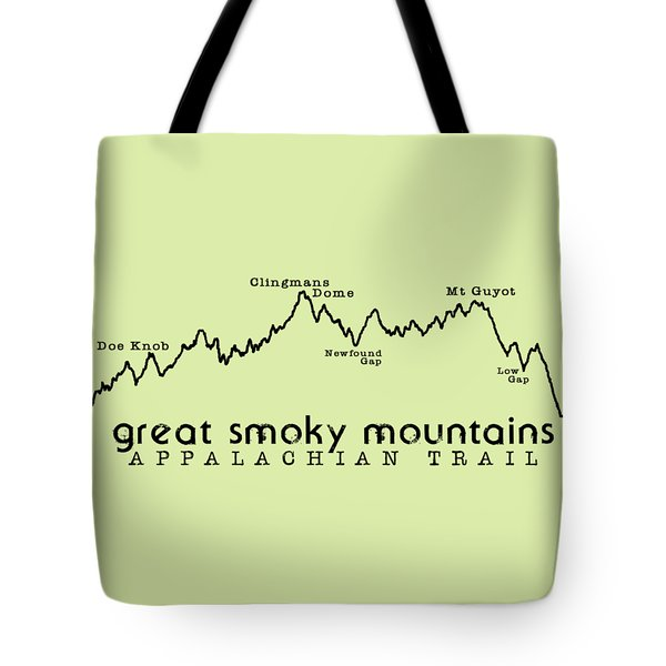 At Elevation Profile Gsm Tote Bag by Heather Applegate