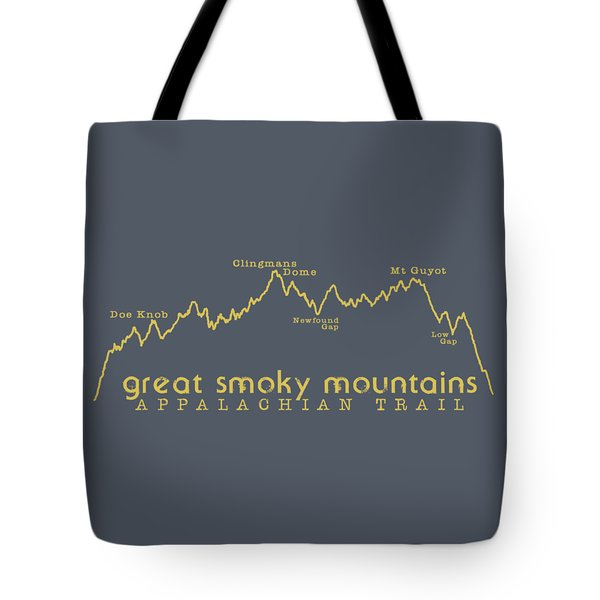 At Elevation Profile Gsm Mustard Tote Bag by Heather Applegate
