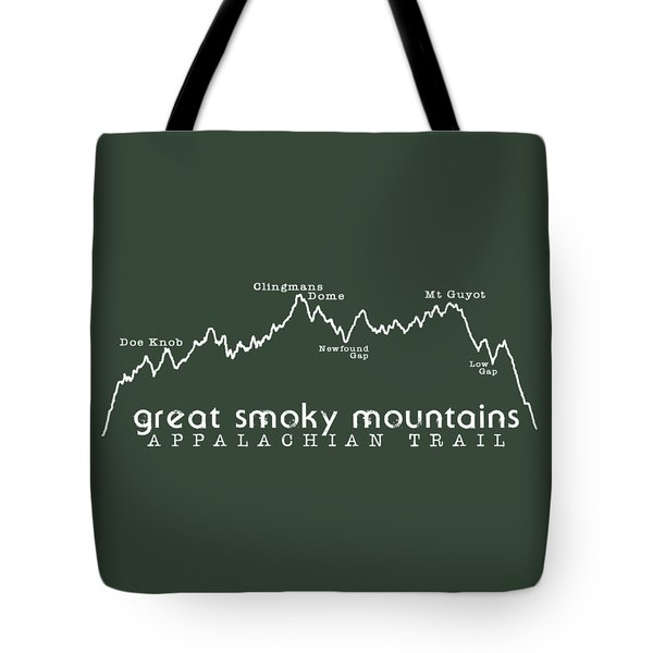 At Elevation Profile Gsm White Tote Bag by Heather Applegate