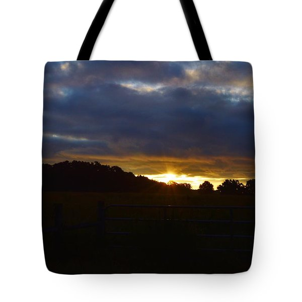 At First Light Tote Bag