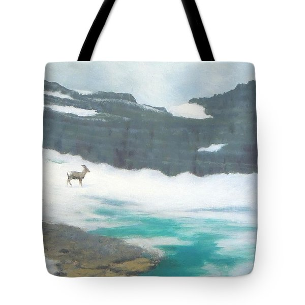 At Grinnell Glacier Tote Bag