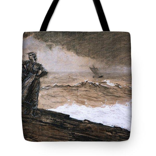 At High Sea Tote Bag