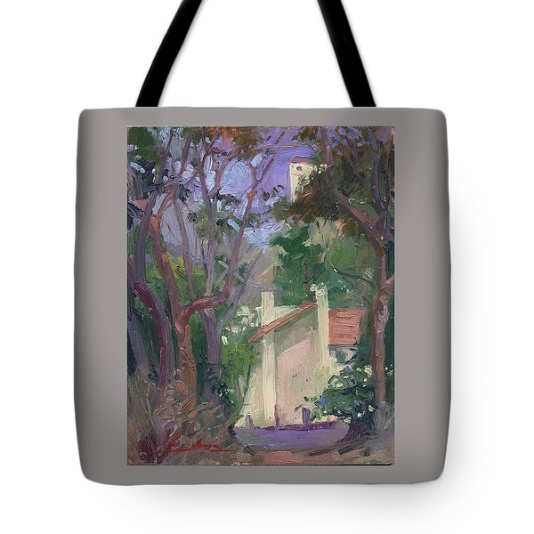 At Jourey's End Plein Air Tote Bag