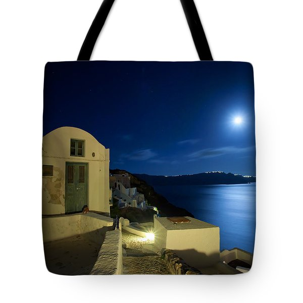 At Midnight Tote Bag by Aiolos Greek Collections