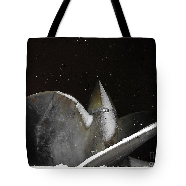 At Night In The Winter Tote Bag by Yury Bashkin