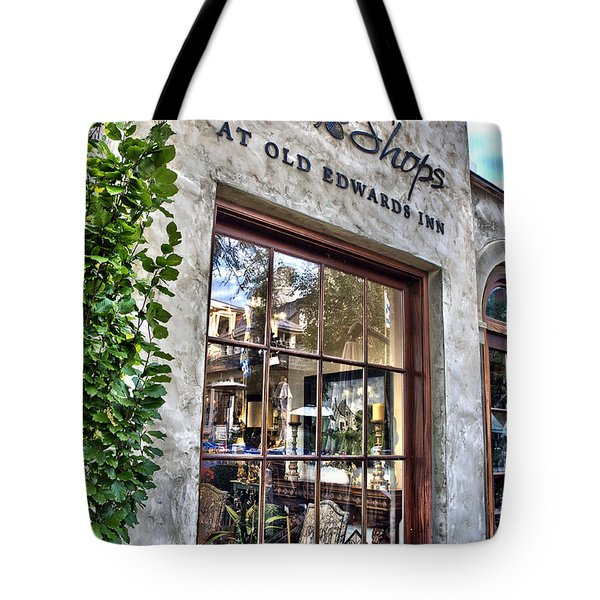 Tote Bag featuring the photograph at Old Edwards Inn by Allen Carroll