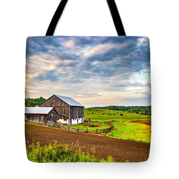 At One With The Land Tote Bag by Steve Harrington