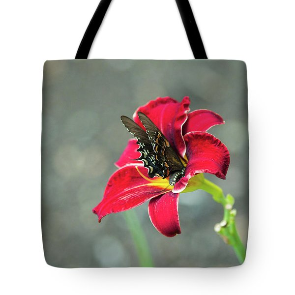 At One With The Orchid 2 Tote Bag