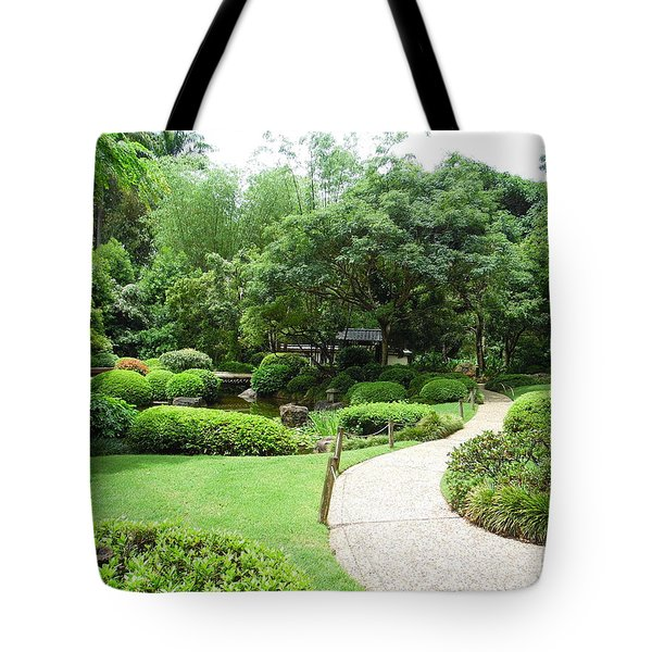 At Peace With Nature  Tote Bag