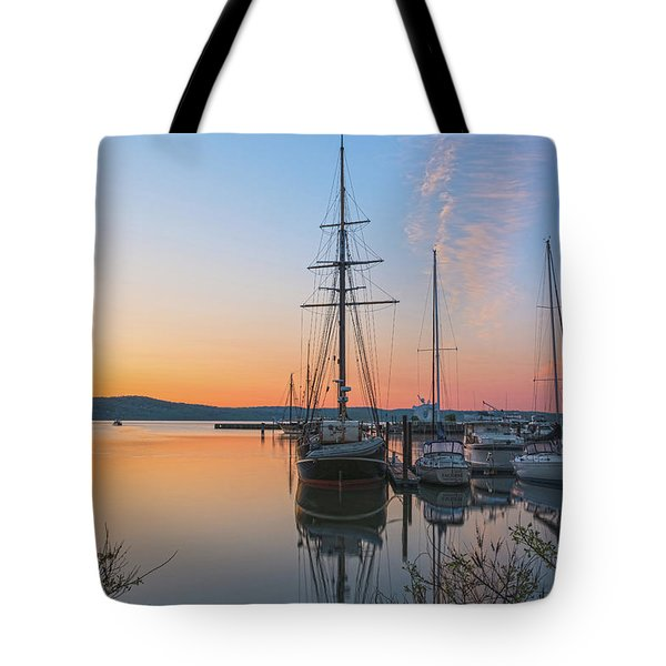 At Rest At Dawn Tote Bag