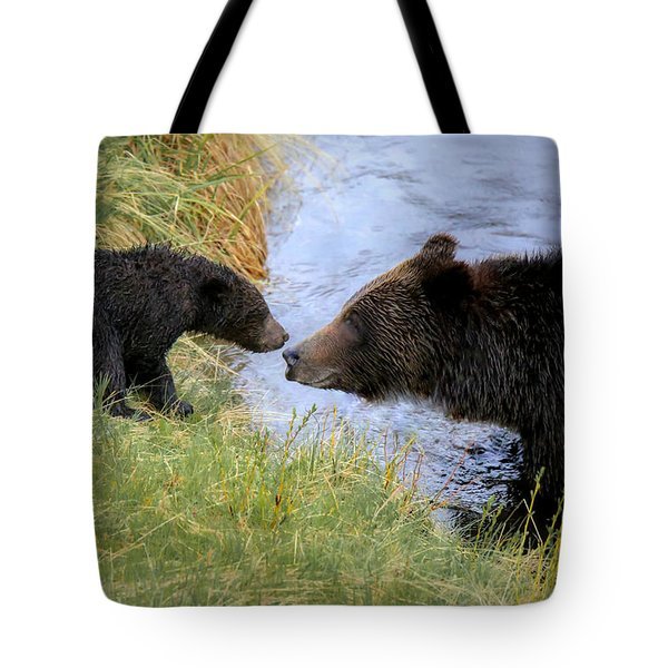 At River's Edge Tote Bag