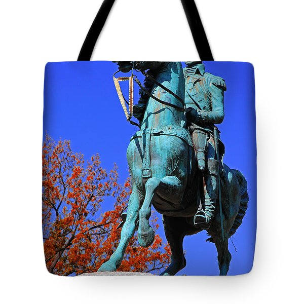 At The Battle Of Princeton Tote Bag