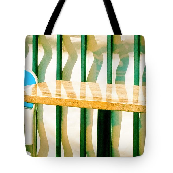 Tote Bag featuring the photograph At The Beach by Tom Vaughan