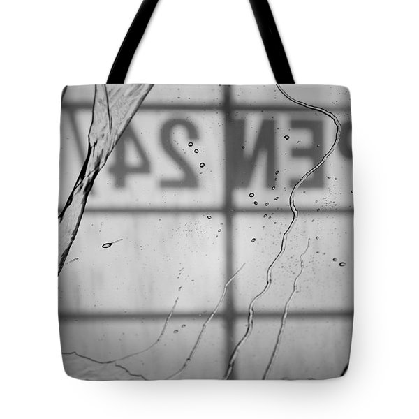 At The Car Wash Tote Bag by Colleen Coccia