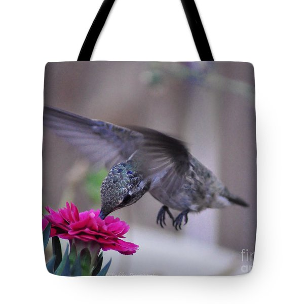 At The Carnation Tote Bag