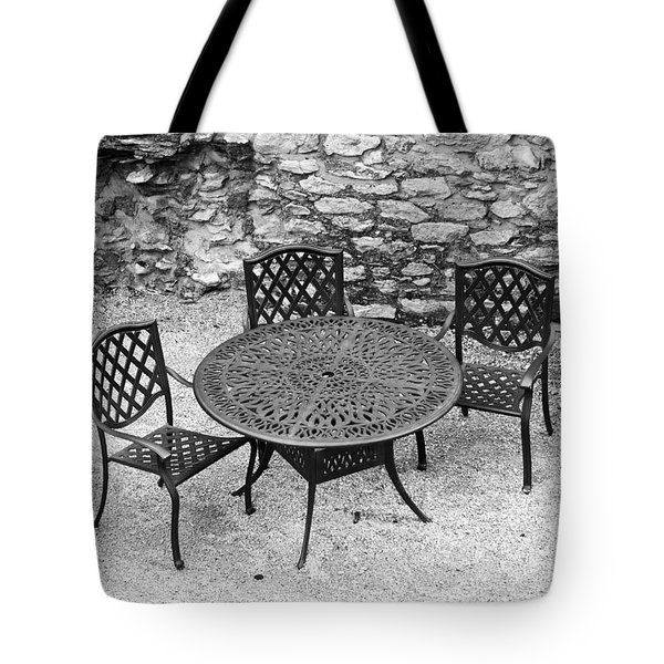 At The Castle Tote Bag by Rae Tucker