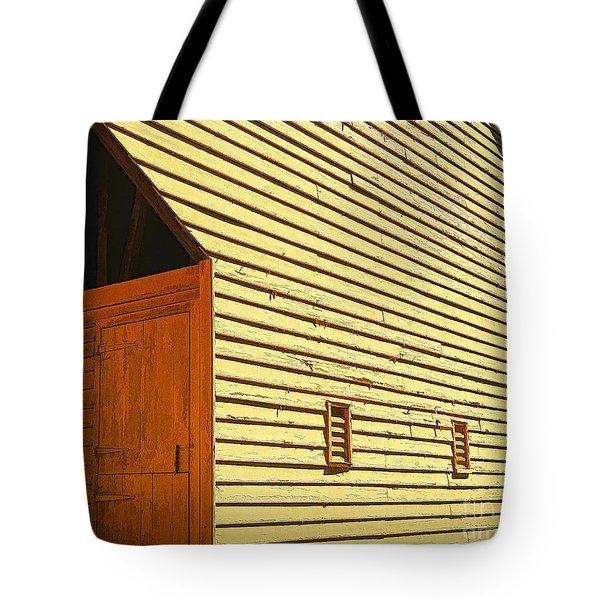 At The Corner Tote Bag