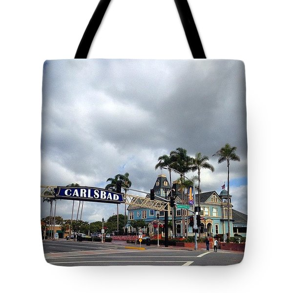 At The Crosswalk. Tote Bag
