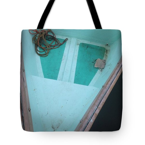 Tote Bag featuring the photograph At The Dock by Olivier Calas