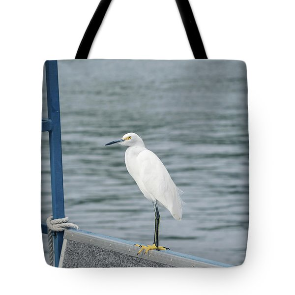 Tote Bag featuring the photograph At The Edge by Kim Hojnacki