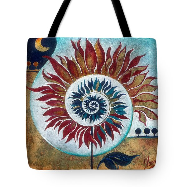 At The Edge Of Day And Night Tote Bag by Anna Ewa Miarczynska
