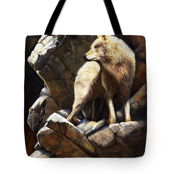 At The Edge Of Time Tote Bag