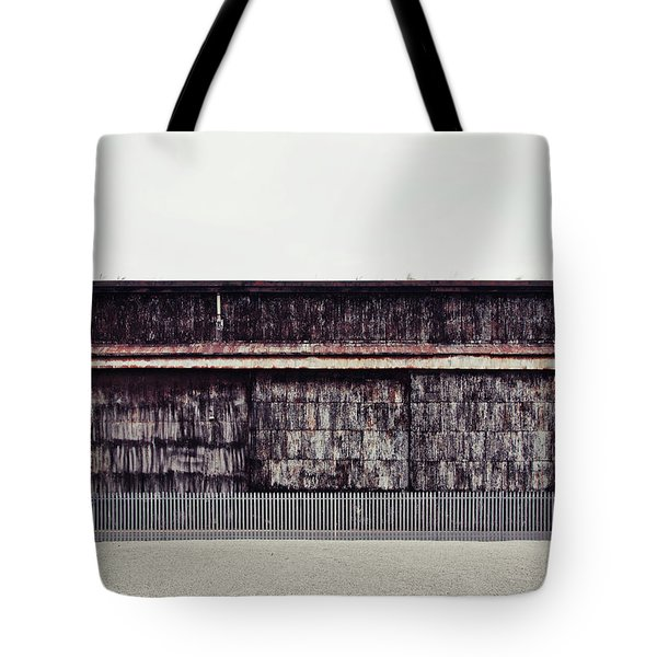 At The Edge Of Town Tote Bag