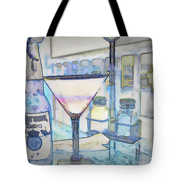 At The End Of The Day Tote Bag by Pamela Blizzard
