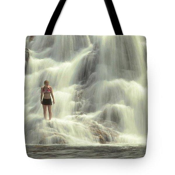 At The Falls Tote Bag