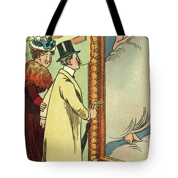 At The Gallery Tote Bag