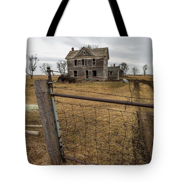 Tote Bag featuring the photograph At The Gate  by Aaron J Groen