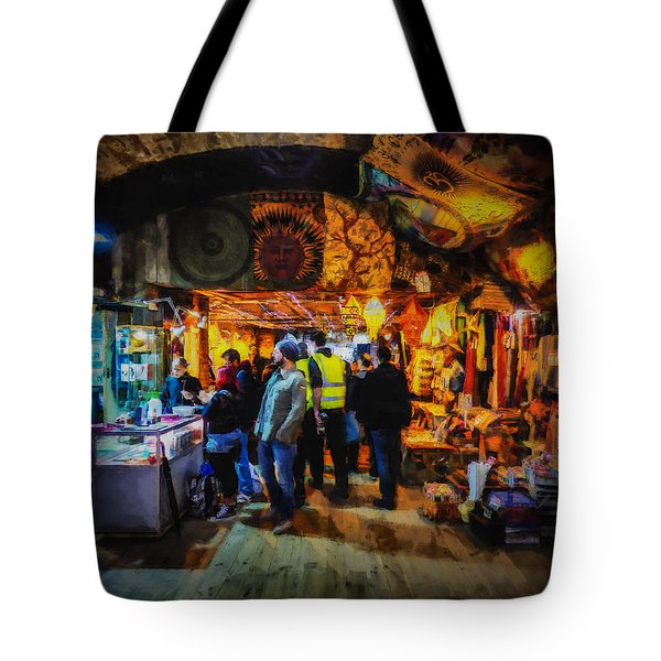 At The Grand Bazaar Tote Bag by Steve Taylor