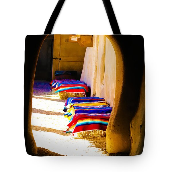 At The Hacienda Tote Bag