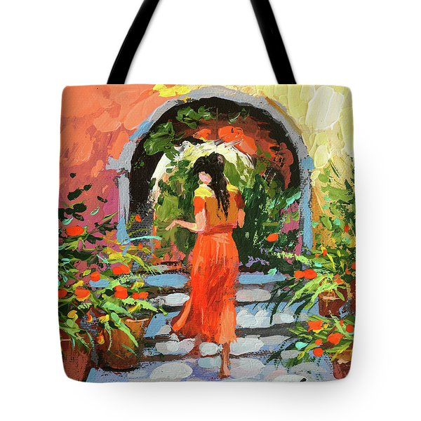 At The Hcienda  Tote Bag