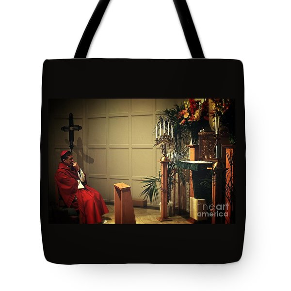 At The Heart Of Everything Tote Bag