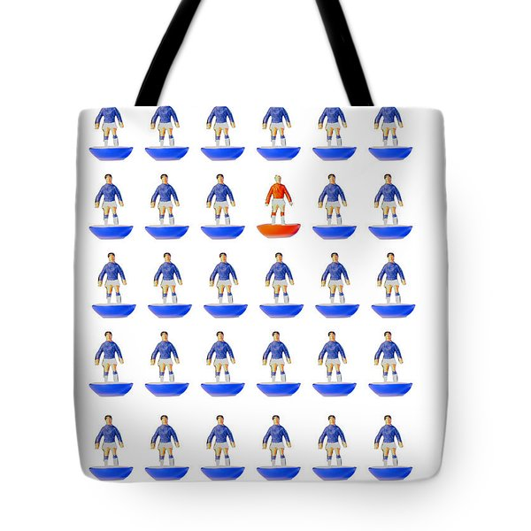At The Heart Of My Fantasy Team Tote Bag by John Colley