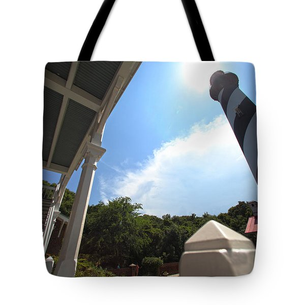 At The Light Tote Bag